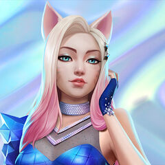 K/DA ALL OUT Ahri Promo 4 (by Riot Artists <a href=