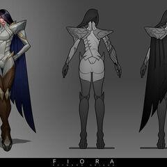Fiora Update Concept 1 (by Riot Artist <a rel=