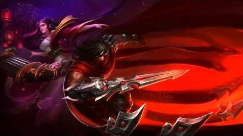 Lunar Revel 2012 (Talon & Sona) League Of Legends Login Screen With Music