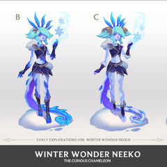 Winter Wonder Neeko Concept 2 (by Riot Artist <a href=