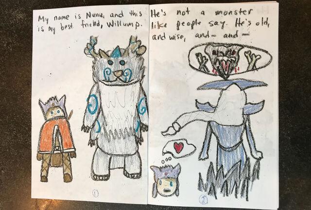 Nunu i Willump 9 ciekawostek z tworzenia Nunu 4