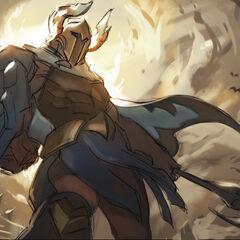 Perseus Pantheon Update Splash Concept 2 (by Riot Artist <a href=