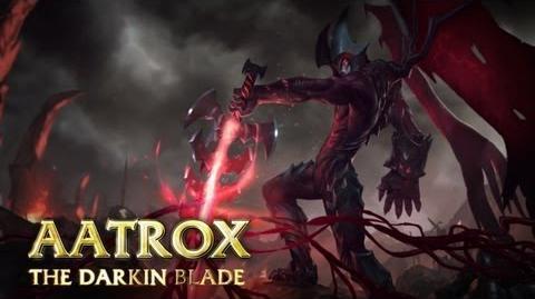 Prezentacja Bohatera - Aatrox, Ostrze Darkinów