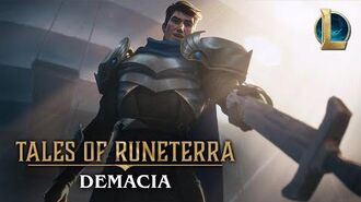 "Tales of Runeterra Demacia ""Before Glory"""