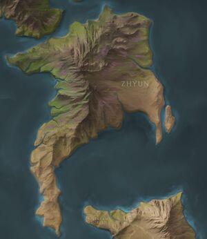 Zhyun map