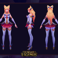 Star Guardian Ahri Model 2 (by Riot Artist <a rel=
