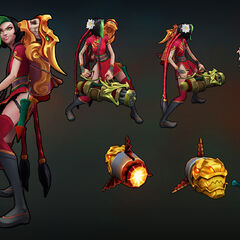 Firecracker Jinx Model 1 (by Riot Artist <a href=