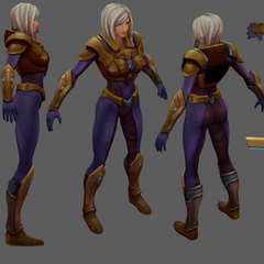 Aether Wing Kayle Model