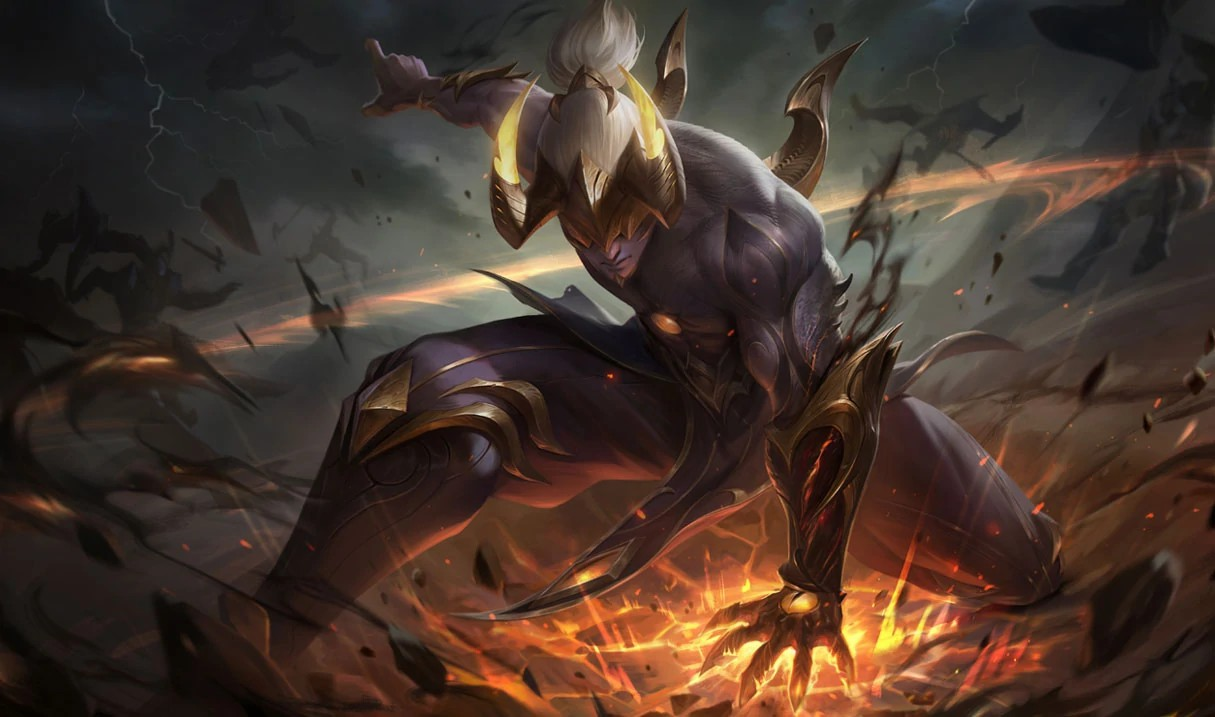 Lee Sin Flammende Finsternis Lee Sin (Prestige-Edition) S