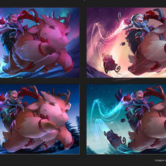 Workshop Nunu &amp; Willump Splash Update Concept 2 (by Riot Artist <a rel=