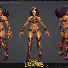 Spectacular Sivir Update Model (by Riot Artists <a rel=
