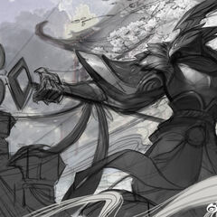 Warring Kingdoms Azir Splash Concept 3 (by Riot Artist <a href=
