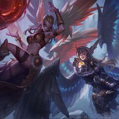 Battleborn Kayle & Exiled Morgana