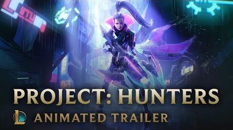 The Hunt PROJECT Hunters Animated Trailer - League of Legends