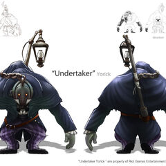 Undertaker Yorick Concept (by Riot Artist <a href=