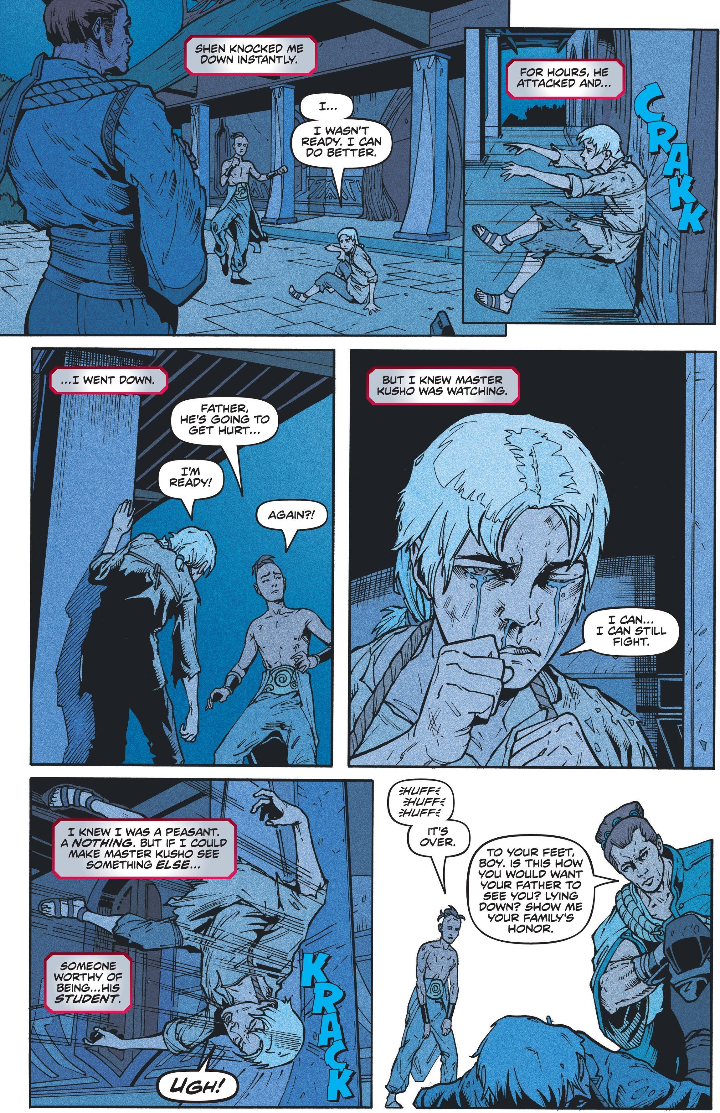 Zed Comic 4 pr17