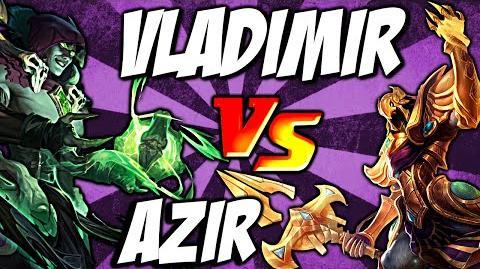 Cist1 Azir Ult vs Vladimir Pool - Emperor's Divide vs Sanguine Pool