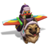 Corki Corgi (Rainbow)