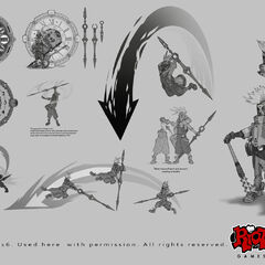 Piltover clock concept art 2 (by Riot Artist <a rel=