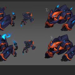 Super Galaxy Gnar Concept 5 (by Riot Artist <a rel=