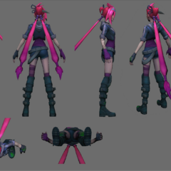 Zombie Slayer Jinx Model 4 (by Riot Artist <a href=