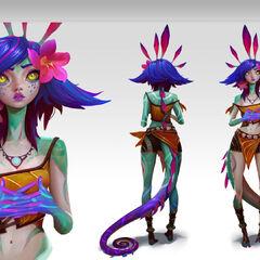 Neeko Concept 4 (by Riot Artist <a href=