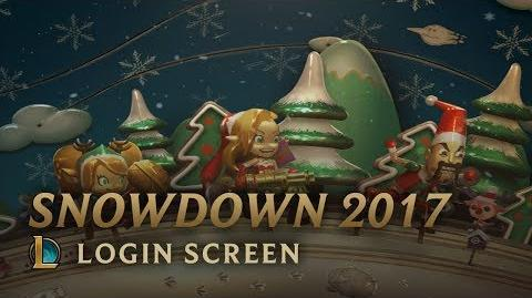 Snowdown 2017 - Login Screen