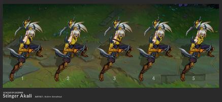 Akali Update Stinger concept 02