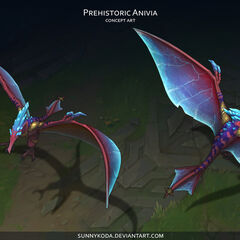 Prehistoric Anivia Concept (by Riot Artist <a href=