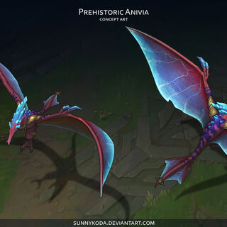 Prehistoric Anivia Concept (by Riot Artist <a href=