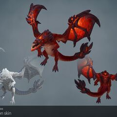 Infernal Drake Model (by Riot Artists <a href=
