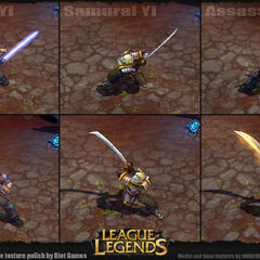 Master Yi Update Model (by Riot Artists <a rel=