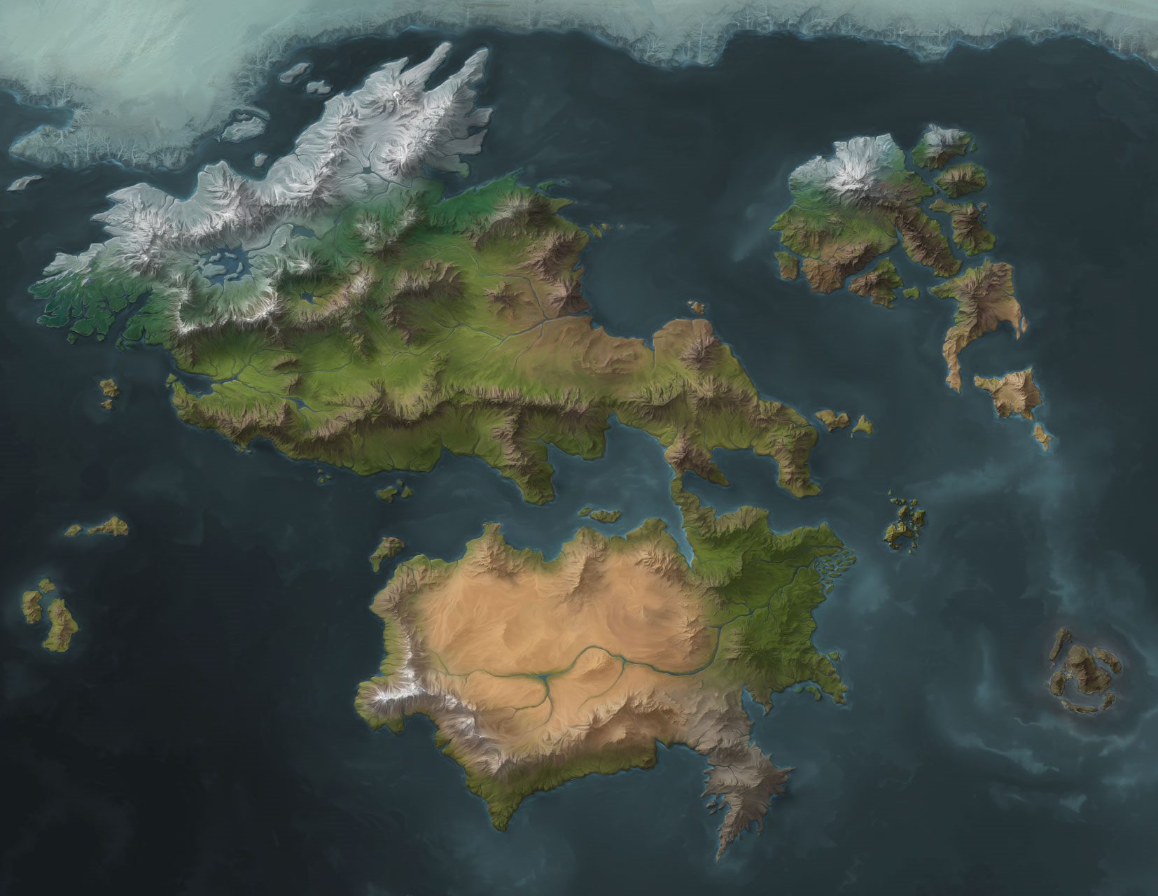 World Map (Cropped)