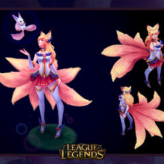 Star Guardian Ahri Model 1 (by Riot Artist <a rel=