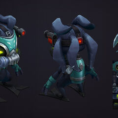 Omega Squad Fizz Model 3 (by Riot Artist <a rel=