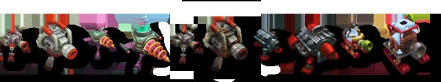 Heimerdinger VU Turrets Models