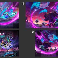 Teamfight Tactics: Galaxies Promo Concept (by Riot Artist <a href=