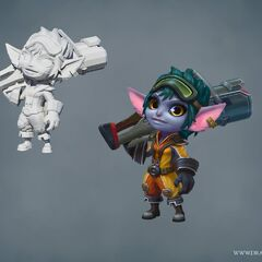 Rocket Girl Tristana Update Model (by Riot Artists <a href=