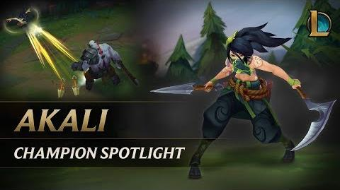 Akali Champion Spotlight
