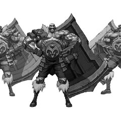 Braum Concept 30 (by Riot Artist <a rel=