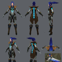 Pulsefire Caitlyn Model 4 (by Riot Artist <a href=