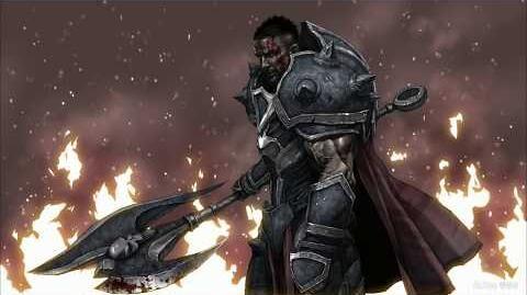 Darius Painting process