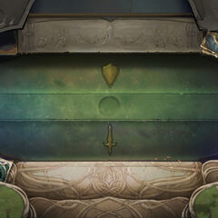 Clifftop Monastery Board Concept (by Riot Artist <a rel=