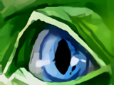 Getarntes Auge