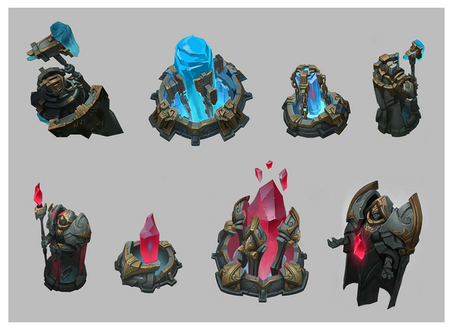 Summoner's Rift Update Theme Turrets