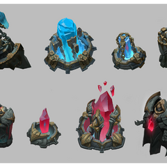 Summoner's Rift Update Nexus Obelisk Models