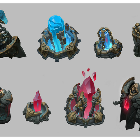 Summoner's Rift Update Nexus Model