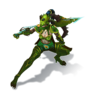 Vayne Dragonslayer (Green)