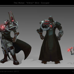 Creator Viktor Concept (by Riot Artist <a href=