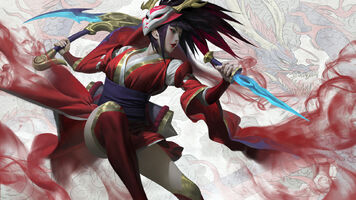 Akali Update BloodMoon Splash concept 06